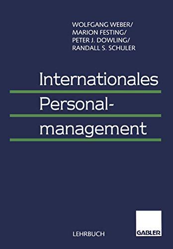 9783409122191: Internationales Personalmanagement