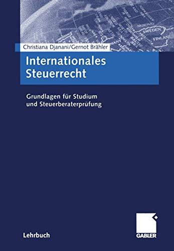 9783409122917: Grundlagen des internationalen Steuerrechts.
