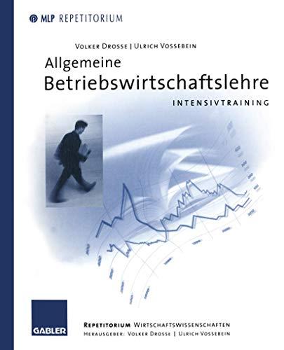 9783409126113: Allgemeine Betriebswirtschaftslehre. Intensivtraining