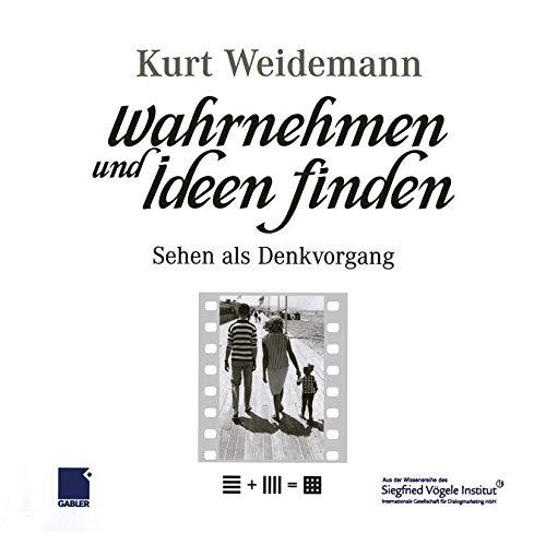 9783409126793: Wahrnehmen und Ideen finden: Sehen als Denkvorgang (German Edition)