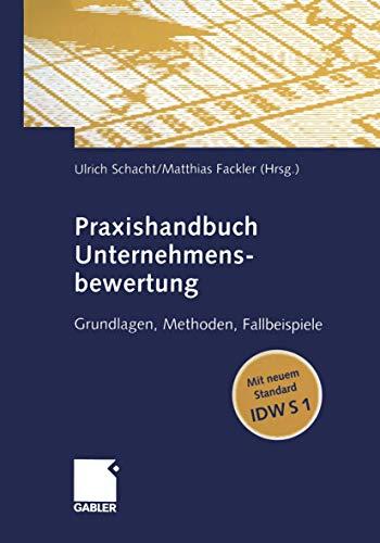 9783409126984: Praxishandbuch Unternehmensbewertung
