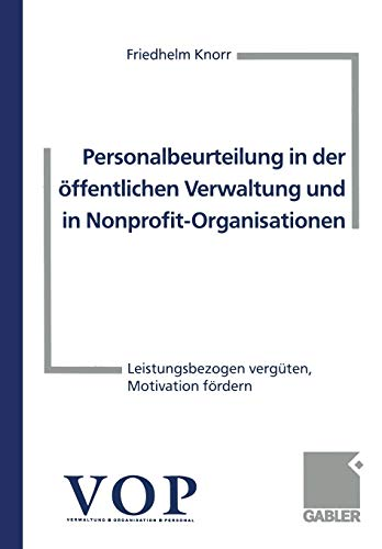Personalbeurteilung in der àffentlichen Verwaltung und in ...