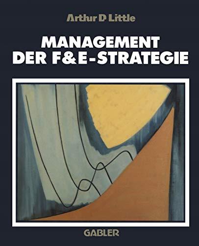 9783409134279: Management der F&E-Strategie (German Edition)