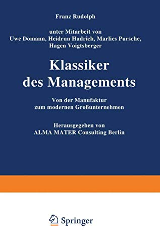 9783409135443: Klassiker Des Managements