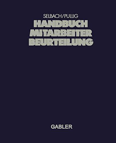 9783409138437: Handbuch Mitarbeiterbeurteilung