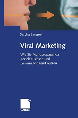 9783409142700: Viral Marketing
