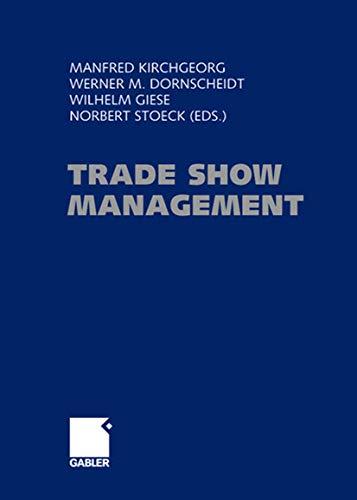 Trade Show Management: Manfred Kirchgeorg