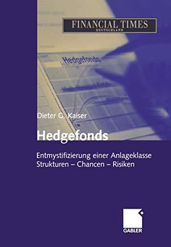 9783409150132: Hedgefonds - Entmystifizierung einer Anlageklasse