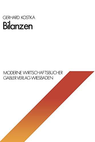 9783409160513: Bilanzen (Moderne Wirtschaftsbücher) (German Edition)