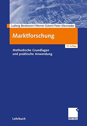 9783409169820: Marktforschung.