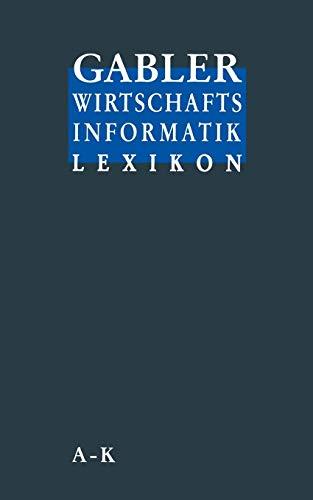 9783409199421: Gabler Wirtschafts Informatik Lexikon