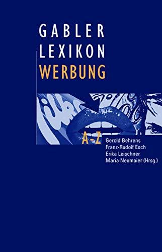 9783409199636: Gabler Lexikon Werbung