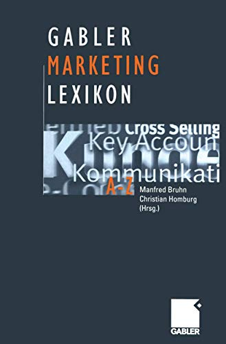 9783409199711: Gabler Lexikon Marketing.
