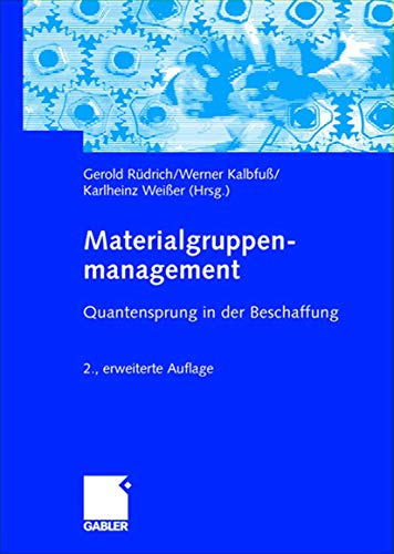 9783409214780: Materialgruppenmanagement: Quantensprung in der Beschaffung