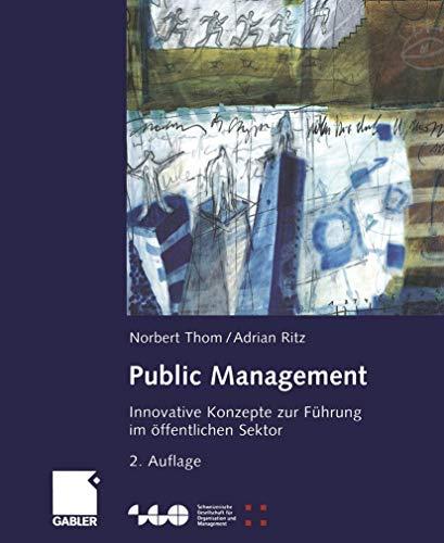 9783409215770: Public Management.
