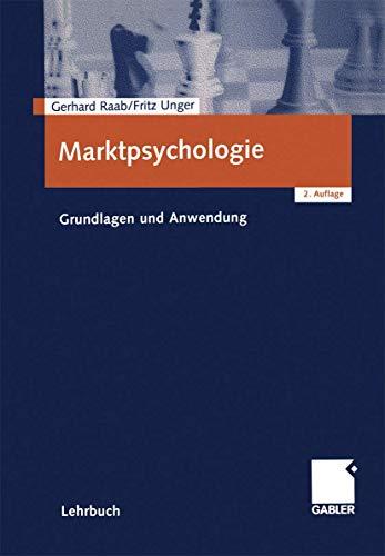 9783409215961: Marktpsychologie: Grundlagen und Anwendung