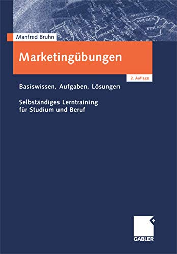 9783409216401: Marketingübungen