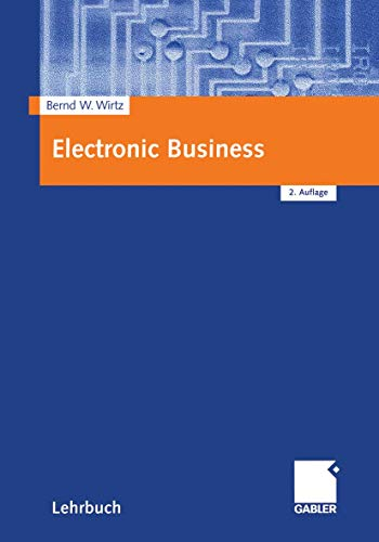 9783409216609: Electronic Business