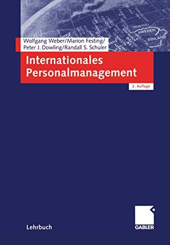 9783409222198: Internationales Personalmanagement