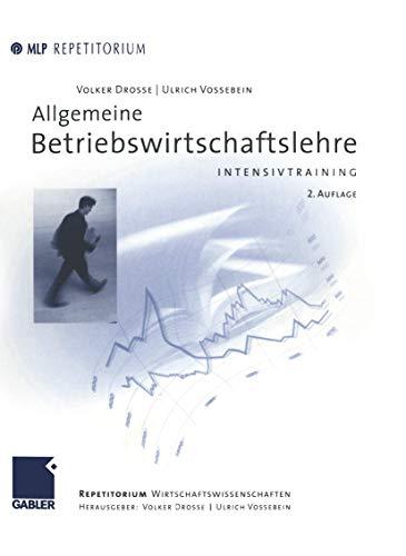 9783409226110: Allgemeine Betriebswirtschaftslehre