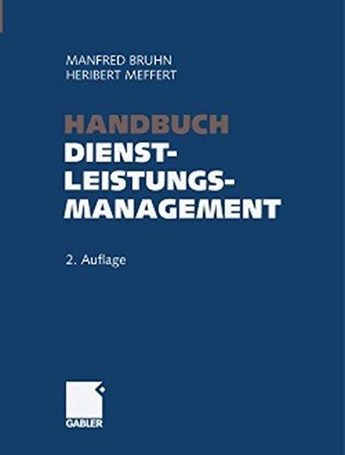 9783409235938: Handbuch Dienstleistungsmanagement: Von der strategischen Konzeption zur praktischen Umsetzung (German Edition)