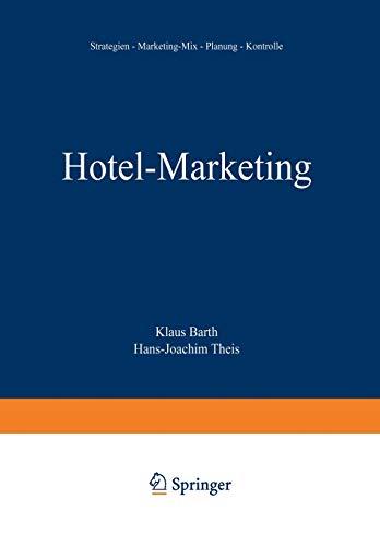 9783409236812: Hotel-Marketing