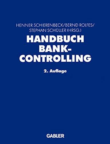 Handbuch Bankcontrolling: Henner Schierenbeck