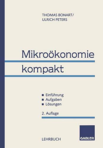 9783409260206: Mikroökonomie kompakt