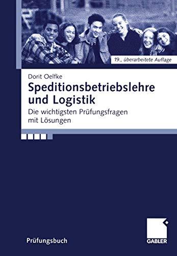 9783409270427: Speditionsbetriebslehre und Logistik