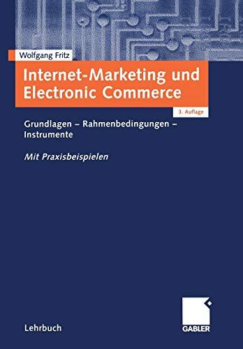 9783409316637: Internet-Marketing und Electronic Commerce: Grundlagen - Rahmenbedingungen - Instrumente