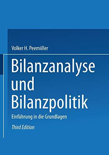 9783409335348: Bilanzanalyse und Bilanzpolitik: Einführung in die Grundlagen (German Edition)