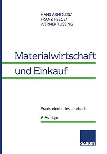 9783409351591: Materialwirtschaft Und Einkauf