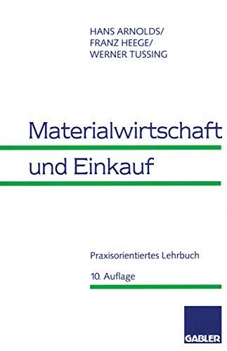 9783409351607: Materialwirtschaft und Einkauf.
