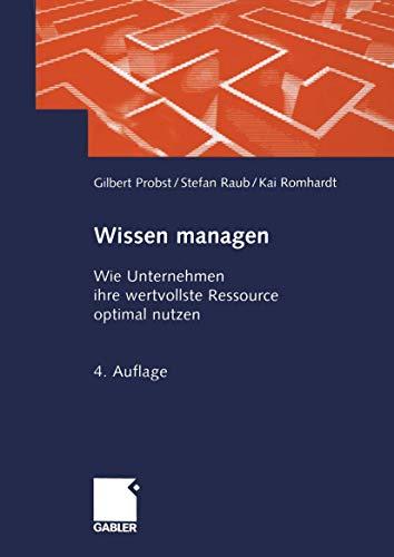 9783409493178: Wissen managen.