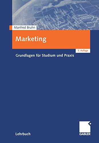 9783409536462: Marketing. Grundlagen für Studium und Praxis.