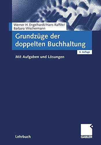 9783409606141: Grundzüge der doppelten Buchhaltung.