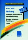 Marketing: Gabler, Betriebswirt.-Vlg