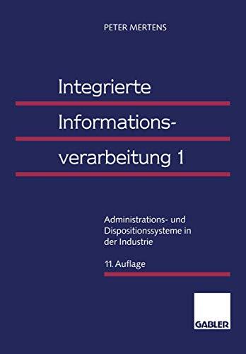 9783409690508: Administrations  Und Dispositionssysteme In Der Industrie