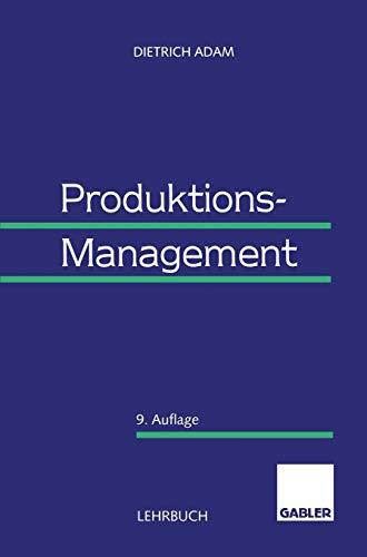 9783409691178: Produktions-Management