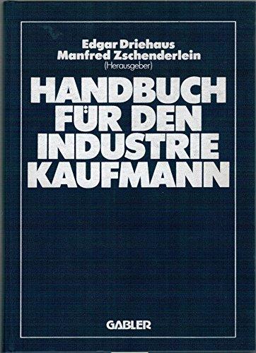 9783409977302: Handbuch für den Industriekaufmann