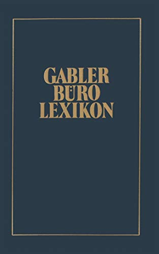 9783409991605: Gabler Büro Lexikon (German Edition)
