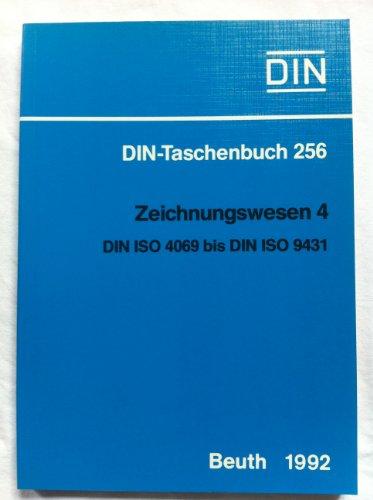 9783410127703: Zeichnungswesen 4. DIN ISO 4069 bis DIN ISO 9431. Normen