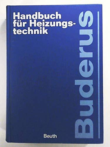 9783410132141: Buderus Handbuch für Heizungstechnik