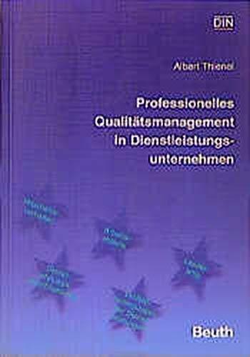 9783410137856: Professionelles Qualitätsmanagement im Dienstleistungsunternehmen