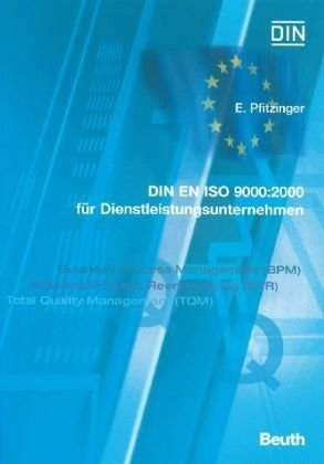 9783410149866: DIN EN ISO 9000:2000 für Dienstleistungen