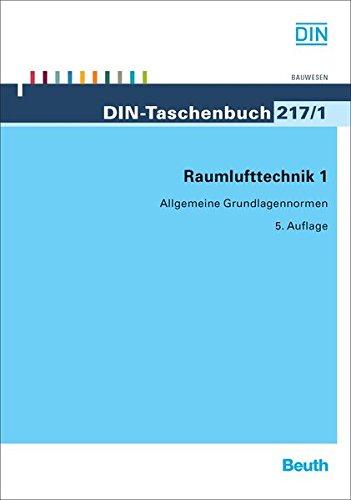 9783410157397: Raumlufttechnik 1: Allgemeine Grundlagennormen
