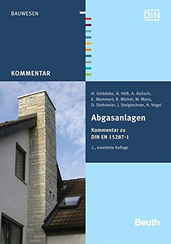 9783410162957: Abgasanlagen: Kommentar zu DIN EN 15287-1