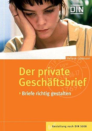 9783410164890 Der Private Geschäftsbrief Briefe Richtig Gestalten