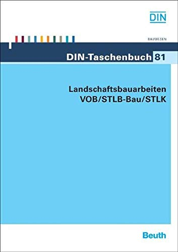 9783410165057: Landschaftsbauarbeiten VOB/STLB-Bau/STLK