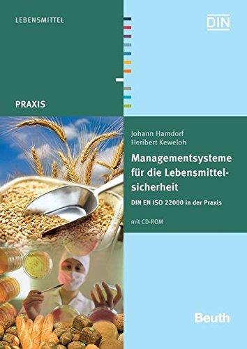 9783410168263: Managementsysteme für die Lebensmittelsicherheit